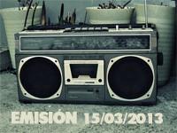 Emisión Ya No Puedo Más 15-03-2013