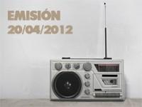 Emisión Ya No Puedo Más 20-04-2012